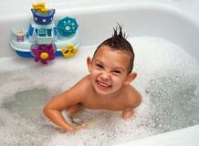 Child in bathing Stock Photography