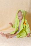 The child after bathing Royalty Free Stock Photo