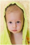 The child after bathing Stock Photography