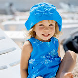 Child on beach Royalty Free Stock Image