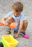 A child on the beach. Stock Photography