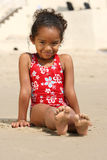 Child on a Beach Stock Photography