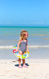 Child at the beach Royalty Free Stock Images