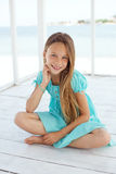 Child at the beach Stock Photography