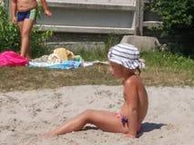 Child. Beach summer Royalty Free Stock Photo