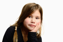 Child with beautiful expression Royalty Free Stock Image