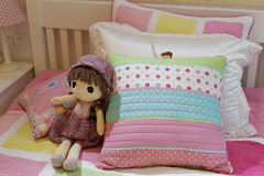 Child bed Stock Image