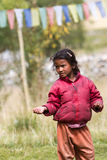 Child beggars in the Himalayas Idian Royalty Free Stock Image