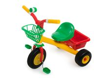Child bicycle stock photo