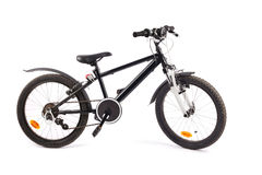 Child Bicycle on white Royalty Free Stock Photography
