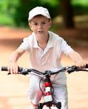 Child on a bike Stock Photos