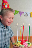 Child birthday Stock Image