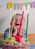 Child birthday Stock Photography