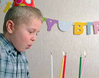Child birthday Stock Photos