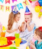 Child birthday party . Stock Photo