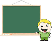Child blackboard Stock Images