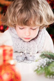 Child blowing out candles Royalty Free Stock Photos