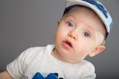 Child in blue cap Stock Image