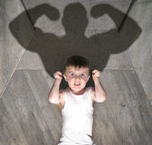 Child Bodybuilder Stock Images