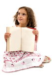 Child and Book Stock Photos