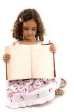 Child and Book Stock Photography