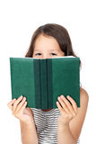 Child with a book Royalty Free Stock Photos