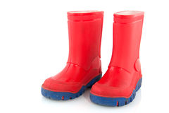 Child boots Royalty Free Stock Photo