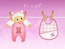A child is born female Stock Photos