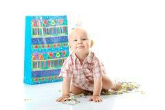 Child boy birthday Royalty Free Stock Photography