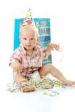 Child boy birthday Royalty Free Stock Images