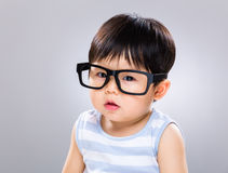 Child boy with glasses Stock Photography