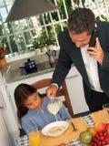Child breakfast. Stock Photography