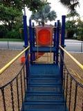 Child bridge. Playground park fun Royalty Free Stock Images