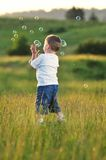 Child bubble Royalty Free Stock Photo