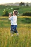 Child bubble Royalty Free Stock Photo