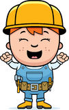Child Builder Excited Stock Photography