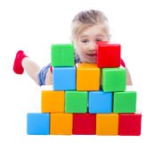 Child builder Stock Photos