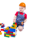 Child builder Royalty Free Stock Image