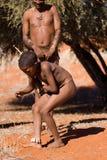 Child bushman Stock Images