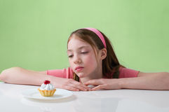 Child with cake Royalty Free Stock Photos