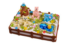 Child cake Royalty Free Stock Photos