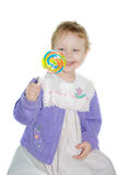 Child with candy. Royalty Free Stock Photography