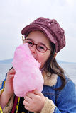 Child with a candy Royalty Free Stock Photos