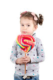 Child with candy Royalty Free Stock Photography