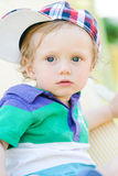 Child with cap Stock Photography