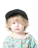 A child in a cap. Royalty Free Stock Images