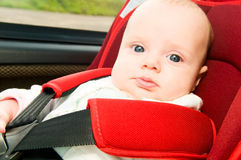 Child in car Royalty Free Stock Photo