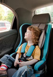 Child in a car Royalty Free Stock Photo