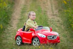 Child car Stock Images