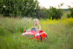 Child car Stock Photography